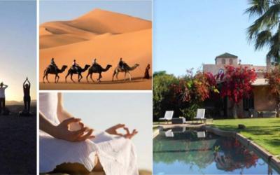 CARAVANE DU FÉMININ MASCULIN SACRÉS AU CŒUR DE SOI entre le Sud du Désert Marocain et  Marrakech du 23 février au 2 mars 2020