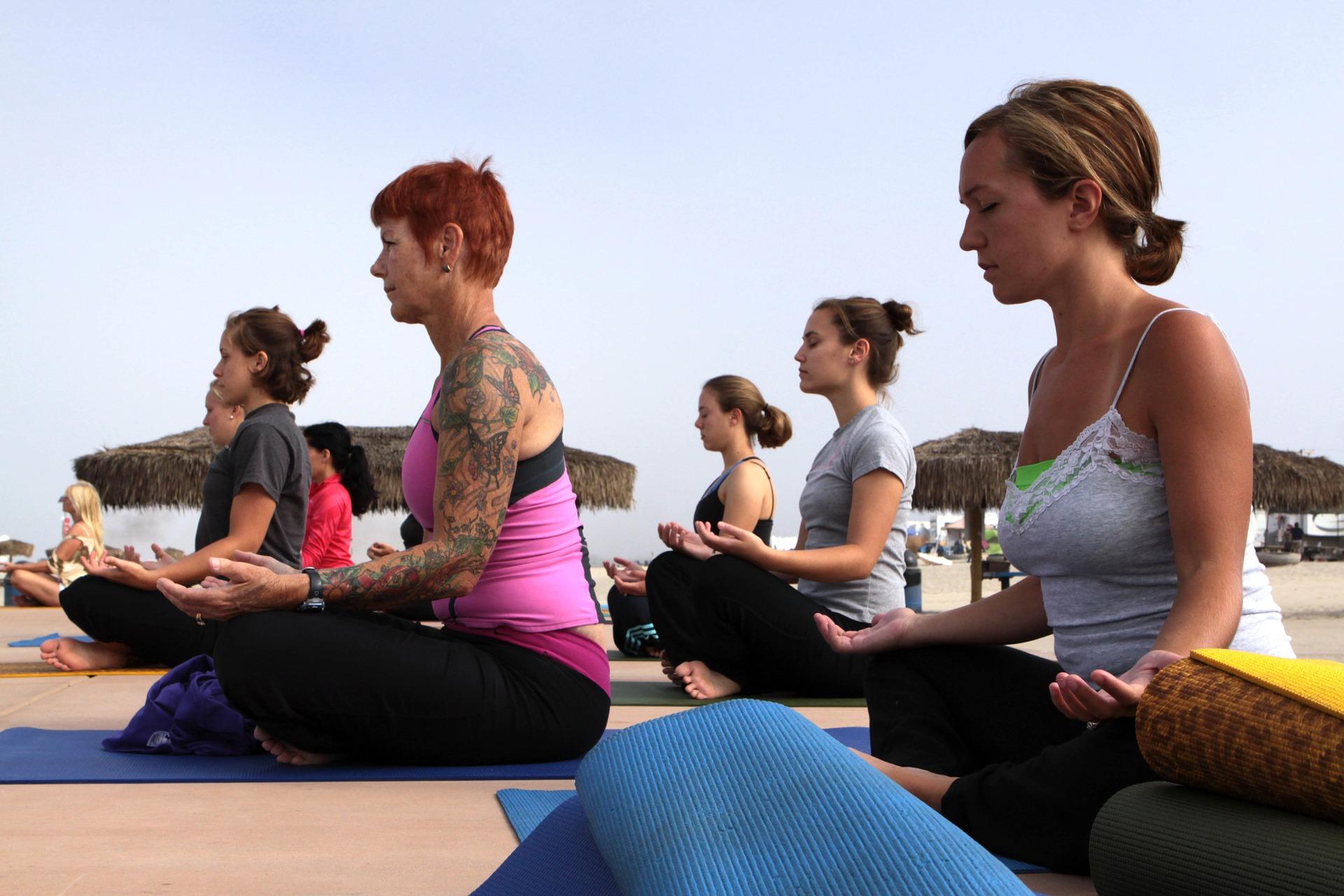 Changement du corps - Privilégier les sport doux et la relaxation permet de se maintenir en forme