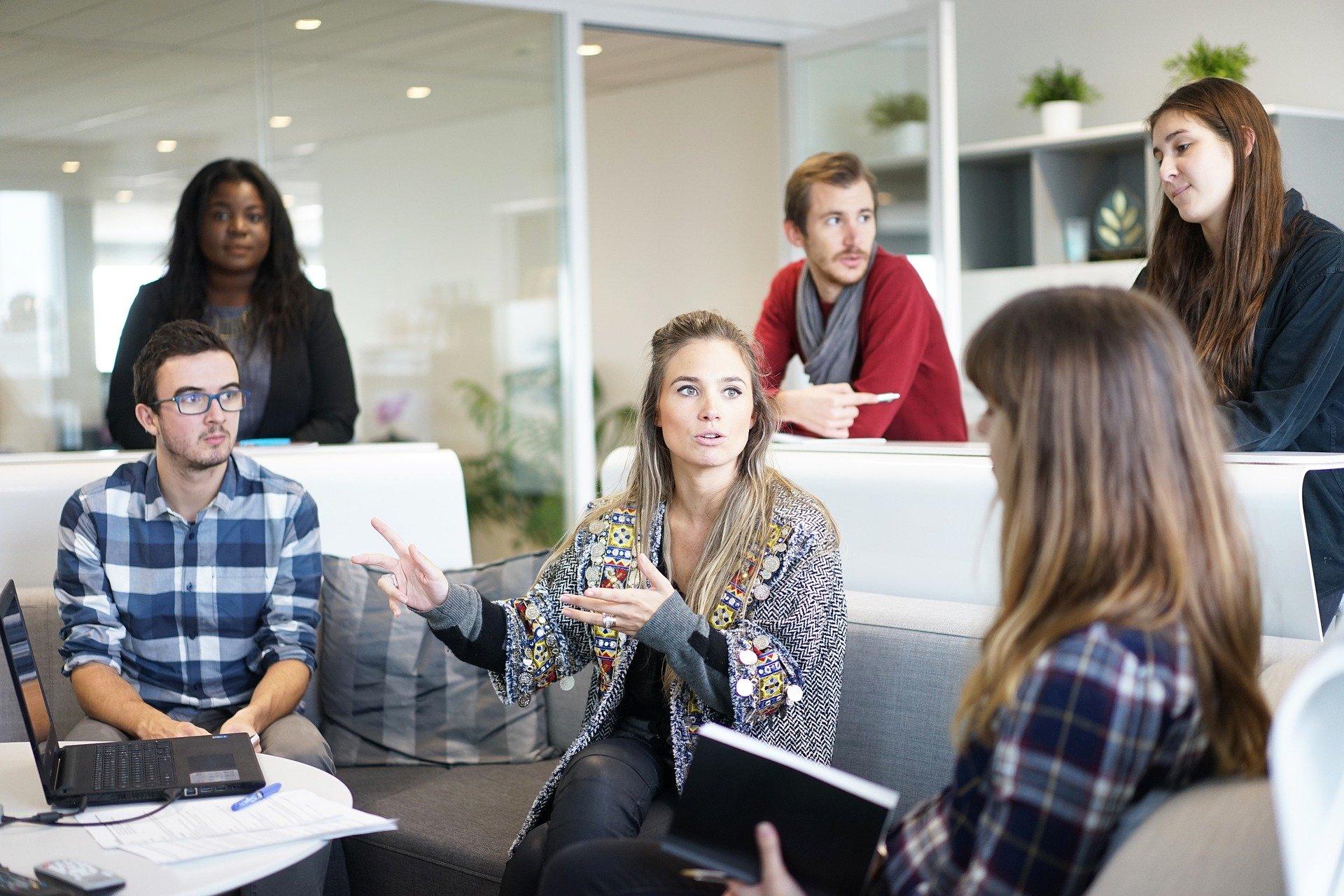Bien-être au travail - Plusieurs métiers professionnels contribuent à un bon cadre de travail